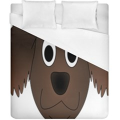 Dog Pup Animal Canine Brown Pet Duvet Cover (california King Size) by Nexatart