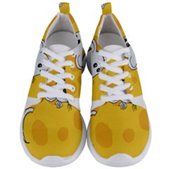 Rat Mouse Cheese Animal Mammal Men s Lightweight Sports Shoes