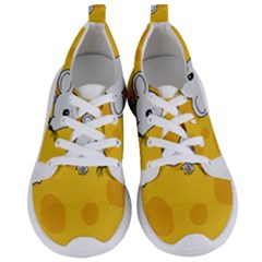 Rat Mouse Cheese Animal Mammal Women s Lightweight Sports Shoes