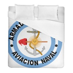 Argentine Naval Aviation Patch Duvet Cover (full/ Double Size) by abbeyz71