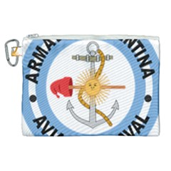 Argentine Naval Aviation Patch Canvas Cosmetic Bag (xl) by abbeyz71