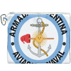 Argentine Naval Aviation Patch Canvas Cosmetic Bag (xxxl) by abbeyz71