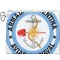 Argentine Naval Aviation Patch Canvas Cosmetic Bag (XXXL) View1