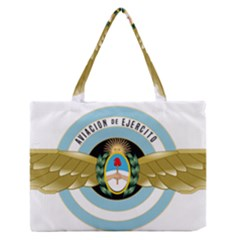 Argentine Army Aviation Badge Zipper Medium Tote Bag by abbeyz71