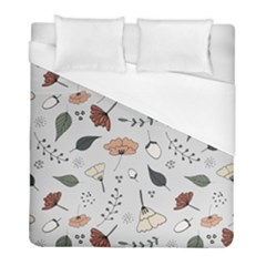 Grey Toned Pattern Duvet Cover (full/ Double Size)
