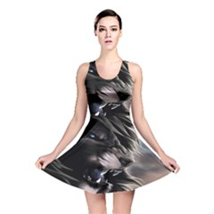 Angry Lion Digital Art Hd Reversible Skater Dress