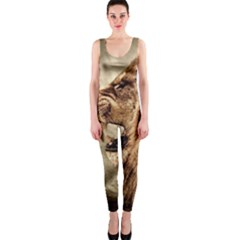Roaring Lion One Piece Catsuit by Nexatart