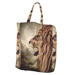 Roaring Lion Giant Grocery Zipper Tote