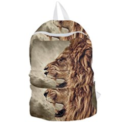 Roaring Lion Foldable Lightweight Backpack by Nexatart