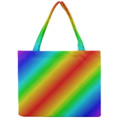 Background Diagonal Refraction Mini Tote Bag by Nexatart