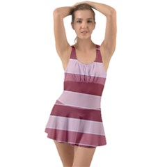 Striped Shapes Wide Stripes Horizontal Geometric Swimsuit