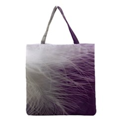 Feather Ease Airy Spring Dress Grocery Tote Bag by Nexatart