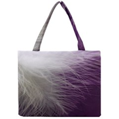 Feather Ease Airy Spring Dress Mini Tote Bag by Nexatart