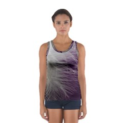Feather Ease Airy Spring Dress Sport Tank Top  by Nexatart