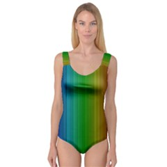 Spectrum Colours Colors Rainbow Princess Tank Leotard