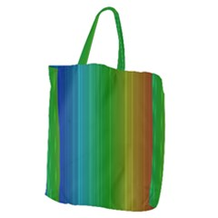 Spectrum Colours Colors Rainbow Giant Grocery Zipper Tote