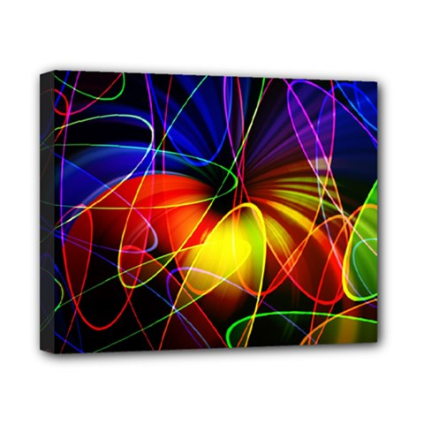 Fractal Pattern Abstract Chaos Canvas 10  X 8  by Nexatart
