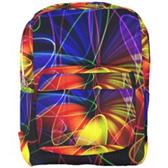 Fractal Pattern Abstract Chaos Full Print Backpack