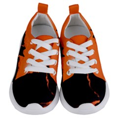 Sunset Cat Shadows Silhouettes Kids  Lightweight Sports Shoes