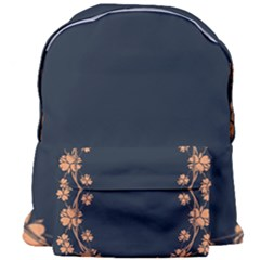 Floral Vintage Royal Frame Pattern Giant Full Print Backpack