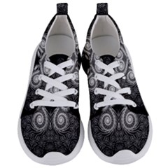 Fractal Filigree Lace Vintage Women s Lightweight Sports Shoes