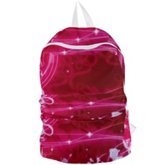 Crystal Flowers Foldable Lightweight Backpack