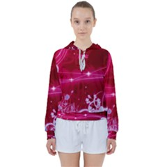 Crystal Flowers Women s Tie Up Sweat by Sapixe