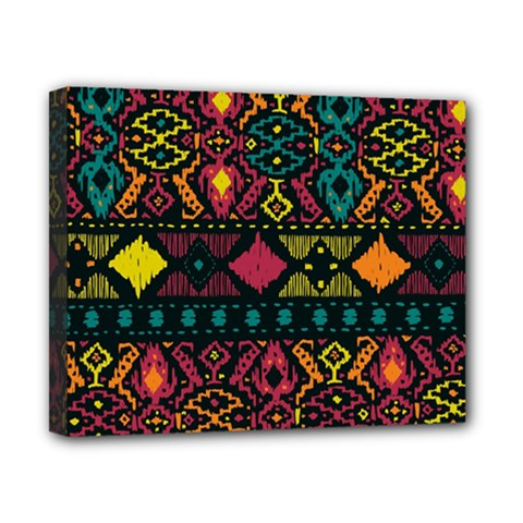 Ethnic Pattern Canvas 10  X 8  by Sapixe