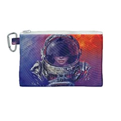Eve Of Destruction Cgi 3d Sci Fi Space Canvas Cosmetic Bag (medium) by Sapixe
