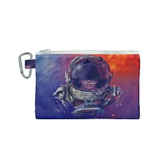 Eve Of Destruction Cgi 3d Sci Fi Space Canvas Cosmetic Bag (small)