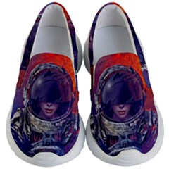 Eve Of Destruction Cgi 3d Sci Fi Space Kid s Lightweight Slip Ons by Sapixe
