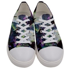 Fantastic World Fantasy Painting Women s Low Top Canvas Sneakers