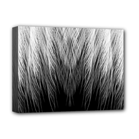 Feather Graphic Design Background Deluxe Canvas 16  X 12   by Sapixe