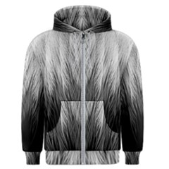 Feather Graphic Design Background Men s Zipper Hoodie by Sapixe