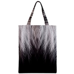 Feather Graphic Design Background Zipper Classic Tote Bag by Sapixe