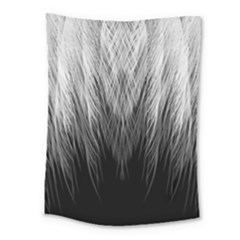 Feather Graphic Design Background Medium Tapestry by Sapixe