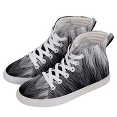 Feather Graphic Design Background Women s Hi-top Skate Sneakers by Sapixe