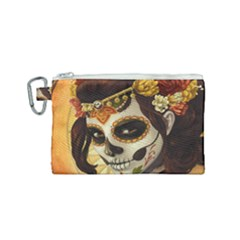 Fantasy Girl Art Canvas Cosmetic Bag (small)