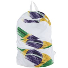 Flag Of Brazil Foldable Lightweight Backpack