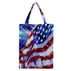 Flag Usa United States Of America Images Independence Day Classic Tote Bag by Sapixe
