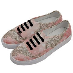 Wonderful Soft Flowers With Floral Elements Men s Classic Low Top Sneakers by FantasyWorld7