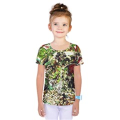 April   Birds Of Paradise 5 Kids  One Piece Tee