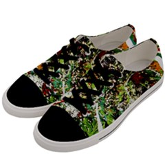 April   Birds Of Paradise 5 Men s Low Top Canvas Sneakers by bestdesignintheworld