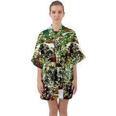 April   Birds Of Paradise 5 Quarter Sleeve Kimono Robe by bestdesignintheworld