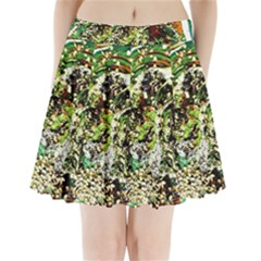 April   Birds Of Paradise 5 Pleated Mini Skirt by bestdesignintheworld