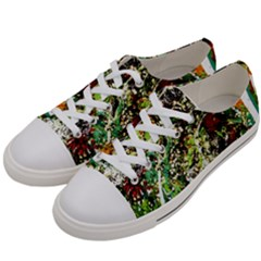 April   Birds Of Paradise 5 Women s Low Top Canvas Sneakers by bestdesignintheworld