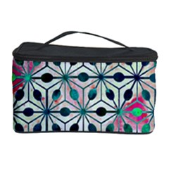 Asterisk, Pattern Sacred Geometry 1 Cosmetic Storage Case by Cveti
