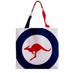 Roundel Of The Australian Air Force Grocery Tote Bag by abbeyz71