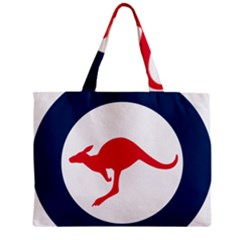 Roundel Of The Australian Air Force Mini Tote Bag by abbeyz71