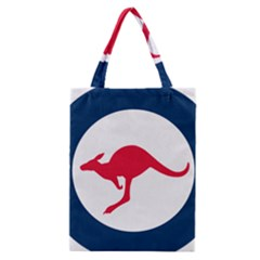 Roundel Of The Australian Air Force Classic Tote Bag by abbeyz71
